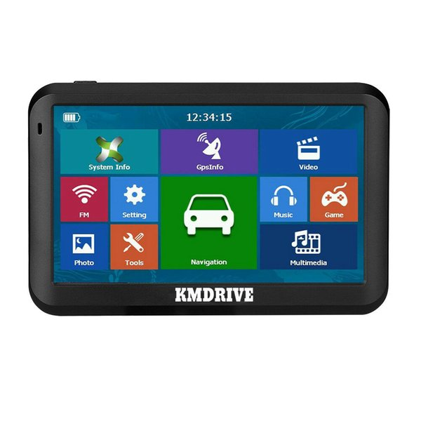"KMDRIVE 5 "" inch Car GPS Navigation Sat Navigator 8GB MP3/MP4 Player With Maps"