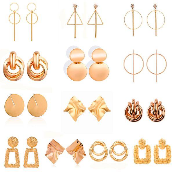New Fashion Drop Dangle Earrings For Women Geometric Earrings Wedding Party Vintage Gifts Bohemian Bijoux