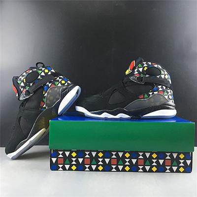 2019 with Box Mens Basketball Shoes Sneakers CJ9218-001 Quai 54 Brand Designer Men Shoes Genuine Leather Size US7-13