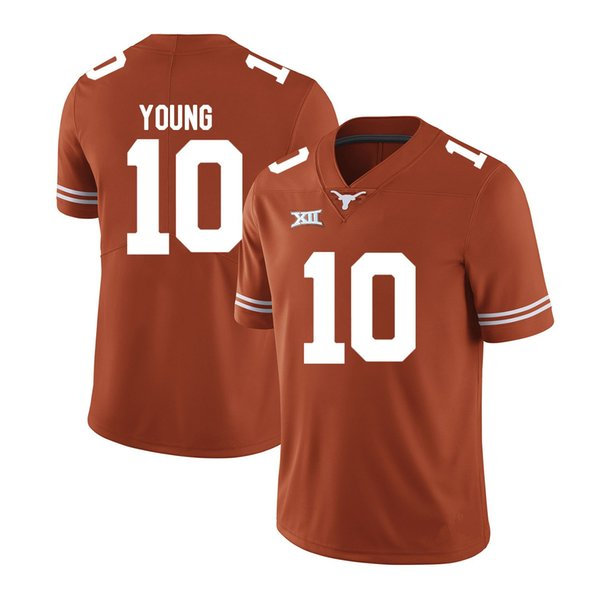 info for 04fa8 0673e 2019 Vince Young Stitched Mens Texas Longhorns Lamarr Houston Kent Perkins  Kenny Vaccaro Malik Jefferson White Orange NCAA College Jersey From ...