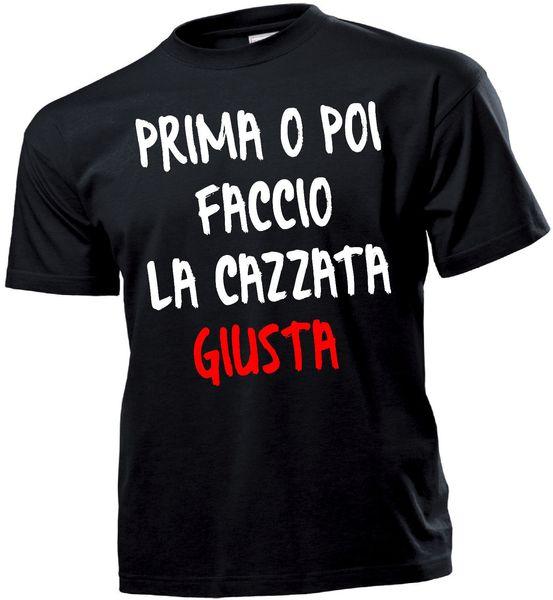 Compre Camiseta Maglietta Regalo Felicidad Frase Divertente Cazzata Giusta Camiseta Personalizada Camiseta Divertida Del Hip Hop Camisetas Para