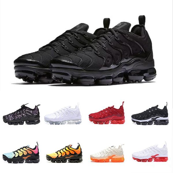 Artı Erkekler Kadınlar Için Koşu Ayakkabı Smokey Leylak Dize Colorways Zeytin Metalik Tasarımcı Üçlü Trainer Spor Sneakers