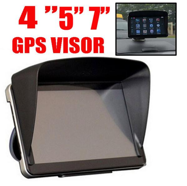 "GPS Sat Nav Sun Shade Visor For 4.3"" / 5"" / 7"" Inch Screen Shield Car GPS Accessories Sunshade Cover Block Blind Cap"