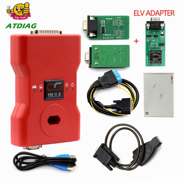 2018 CGDI Prog MB for Benz Car Key Add Fastest for Benz Key Programmer Support All Key Lost CGDI Prog With MB EIS/EZS Functi