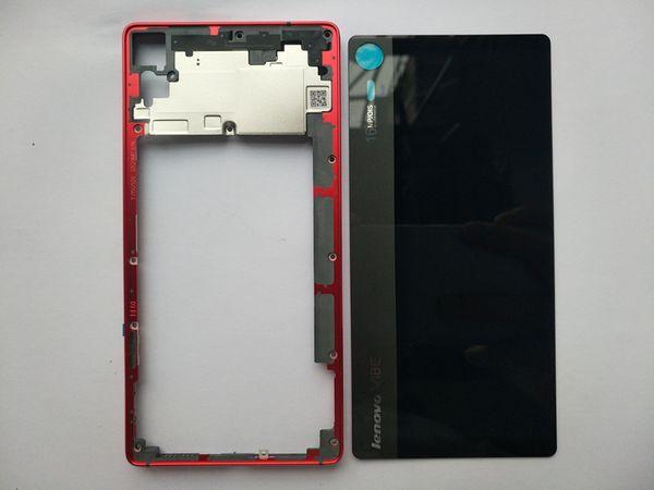 New Middle Frame Glass Battery Back Cover For Lenovo VIBE Shot Z90 Z90-3 Z90-7 Housing Case With Power Volume