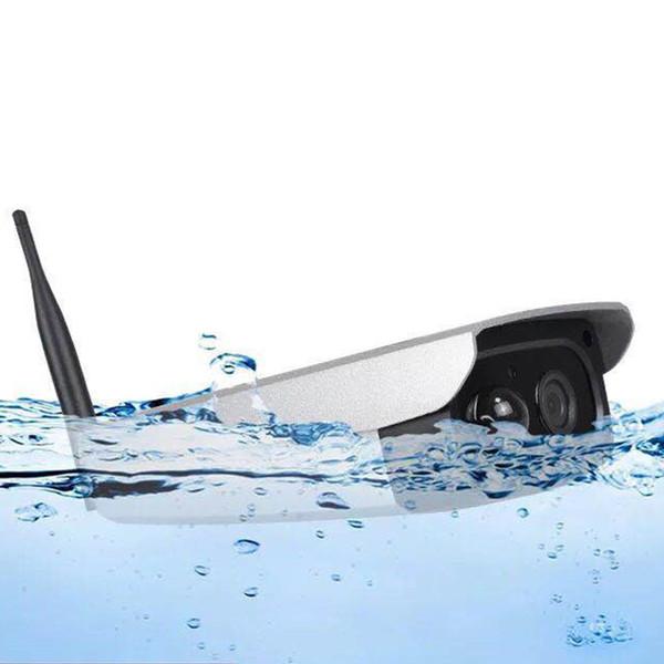 Caméra imperméable de définition élevée de surveillance sans fil actionnée solaire de vision nocturne WIFI de vision nocturne infrarouge