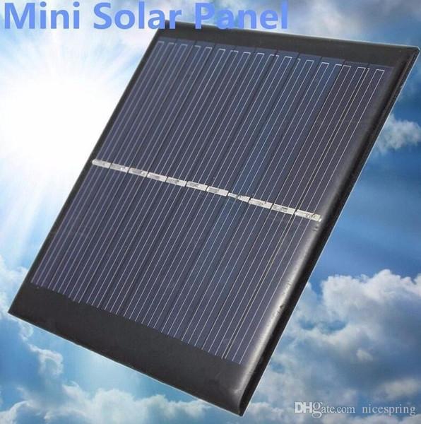 Aparatos para exteriores Mini 6V 1W Panel de Energía Solar Módulo del Sistema Solar DIY Para Batería de Luz Teléfono Celular Juguetes Cargadores Portátiles