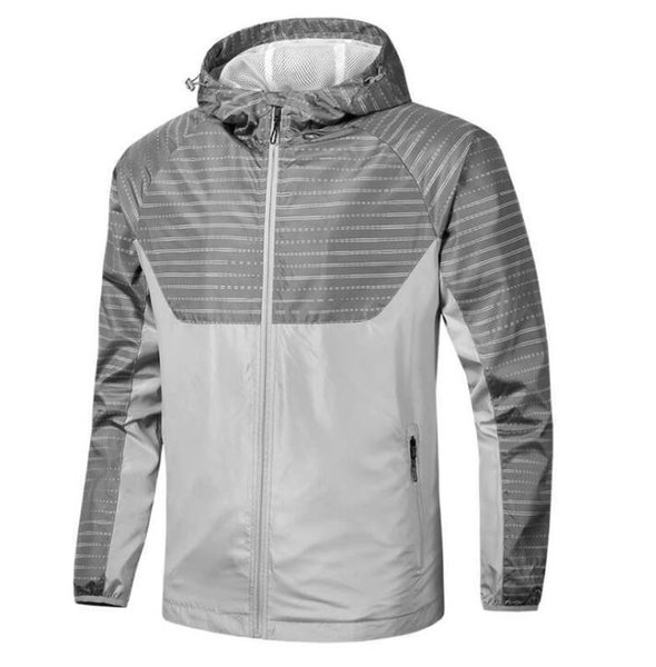 Free shipping Fall thin windrunner Men Women sportswear high quality waterproof fabric Men sports jacket Fashion zipper hoodie plus vbnhuj