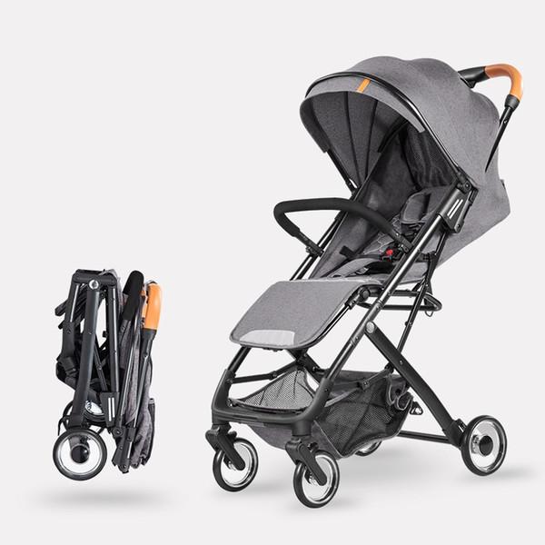 0517662c8 Cochecito de bebé ligero de 5.7 Kg Cochecito de niño de cuatro ruedas con  ruedas de