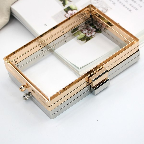 15cm Gold / Silver Mill Finish Square No Hole Screw Hand Exy Gold Manual Diy Material Science Package Hardware Parts