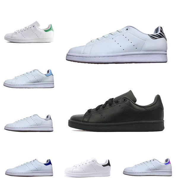 adidas stan smith Yüksek Kalite erkekler kadınlar smith ayakkabı beyaz siyah pembe yeşil moda sıcak satış stan cusual ayakkabı flats boyutu 36-45