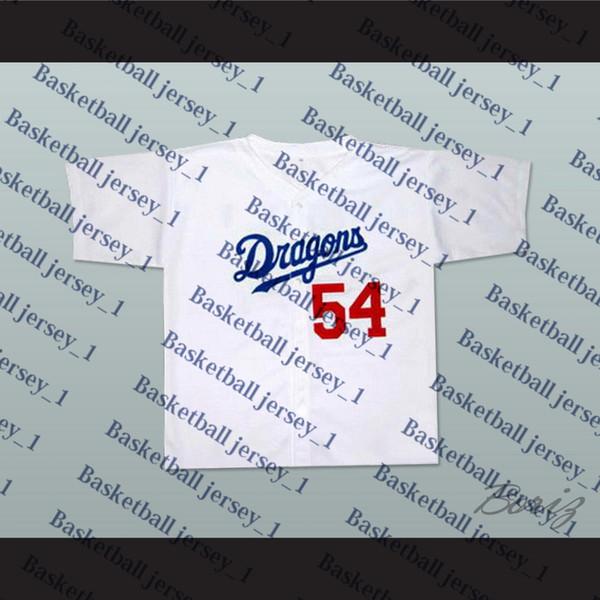 Chunichi Dragons Jack Elliot Mr. Baseball Filme Jersey NOVO Ponto Sewn-4