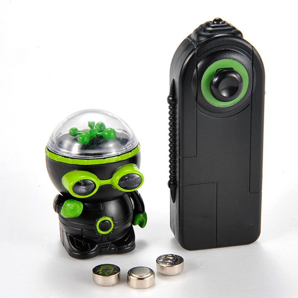 High-tech unique Remote control Infrared RC Robot Electronic Toys Mechanical UFO flash and music aliens Controller toy kids gift