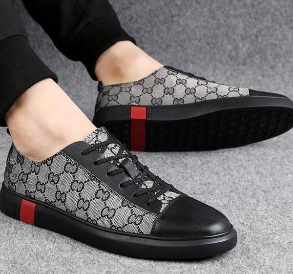 Qualidade superior de qualidade Casual plana sapatos de caminhada, sapatos de grife dos homens sapatos de lona de couro, mens oxford sapatos casuais h6