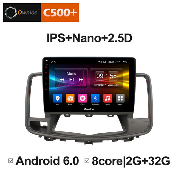 """10.1"""" 2.5D Nano IPS Screen Android Octa Core/4G LTE Car Media Player With GPS RDS Radio/Bluetooth For Nissan Teana 2008-2012 #5825"""