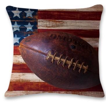 #3 Baseball Throw Pillow Case