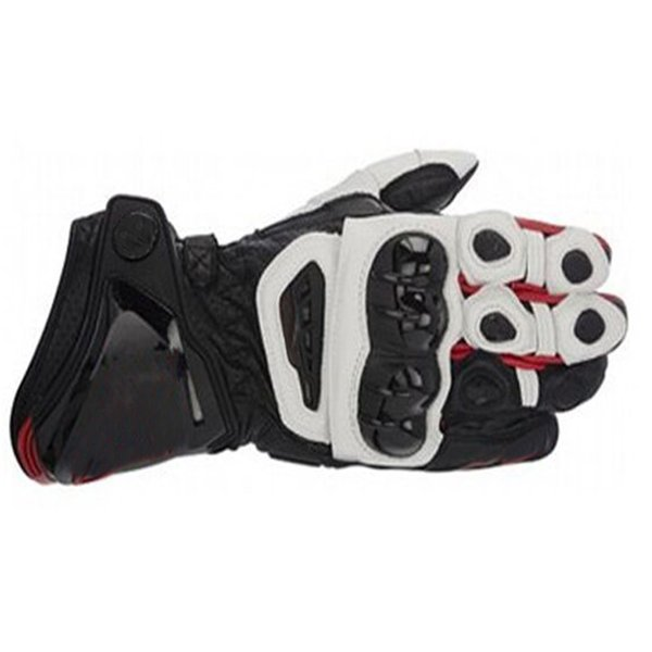 Moto GP Motorcycle Leather Long Gloves Racing Team Race Motocross PRO Gloves