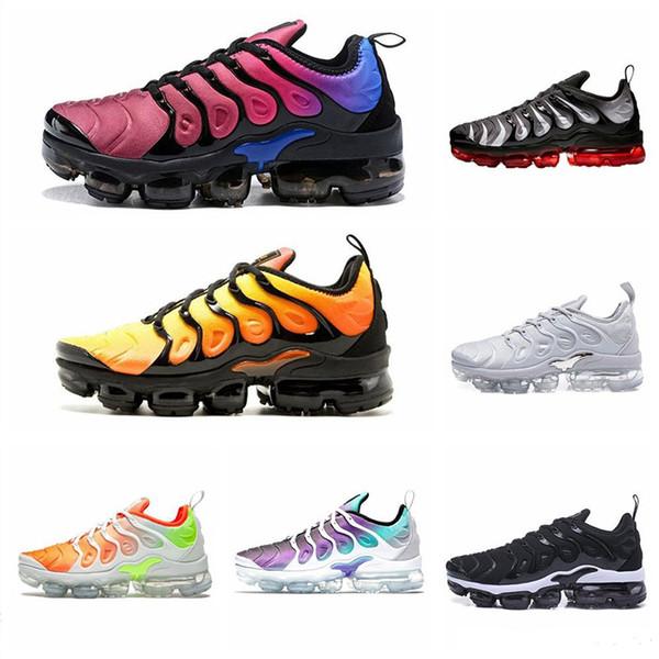 Hyper Blue TN Plus Hombre mujer zapatos para correr HYPER VIOLET Rainbow Game Royal VOLT Smokey moda de lujo para hombre mujer diseñador sandalias zapatos