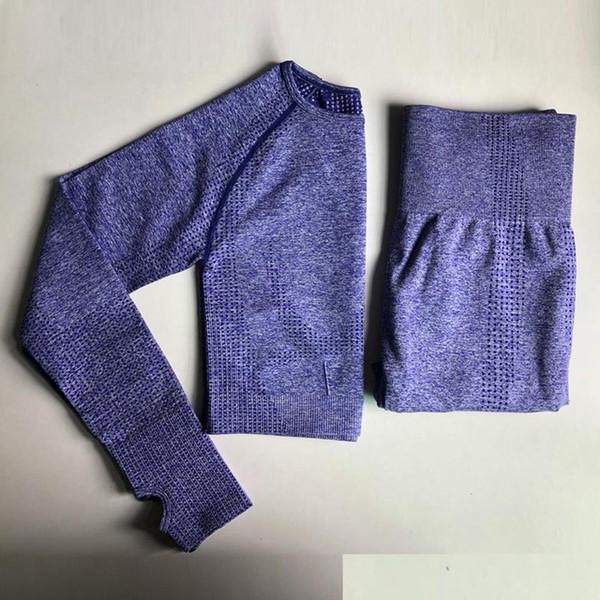 Purple 2Pcs Set