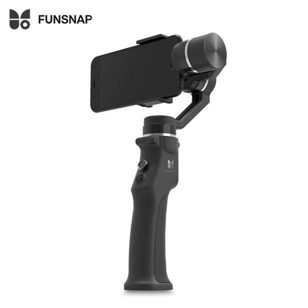 arts Zubehör FUNSNAP Capture 3-Achsen-Handheld Brushless Gimbal Stabilizer Eingebauter hochpräziser Gyroskopsensor Brushless Mot ...