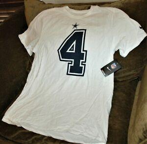 Дак Прескотт трикотаж t Модные мужские 039 с XL Модные NEW W TAGS Модные белые