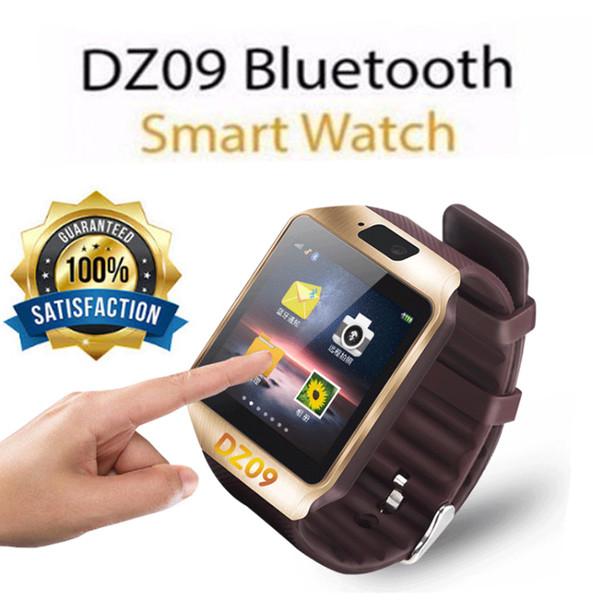 Bluetooth mart watch dz09 portable wri twatch wri twatch 2g im watche tf card for iphone am ung android martphone martwatch