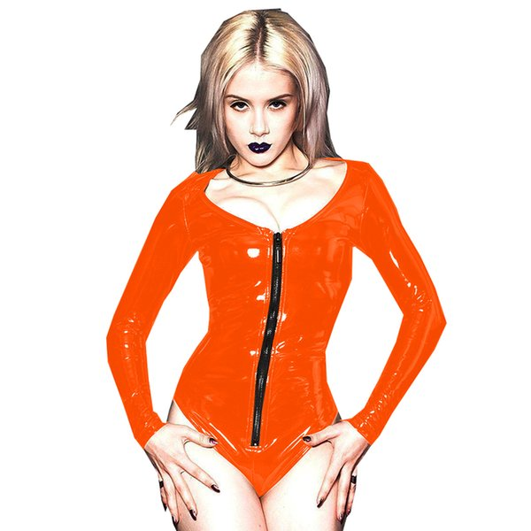 Orange(Black zipper)