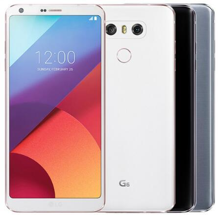 "Original unlocked LG G6 Mobile Phone 4GB RAM 32GB ROM single sim H870 H871 Dual SIM H870DS 4G LTE 5.7"" 13.0MP refurbished phone"