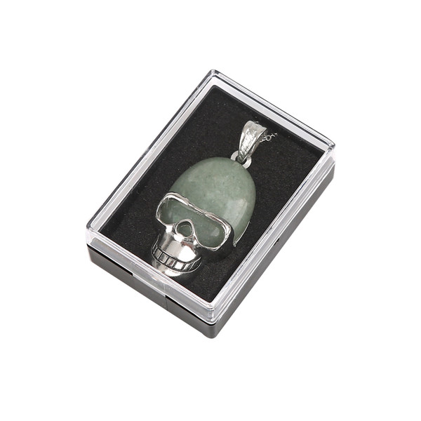 12 random pendant necklace ring face skeleton head male and female personality trend neck jewelry
