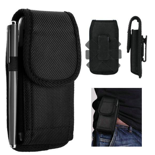 Custodia per cellulare Universal Sport Nylon Holster Belt Clip Cover per telefono Custodie Custodie per iPhone XS max XR X 7 8 Samsung Huaweii
