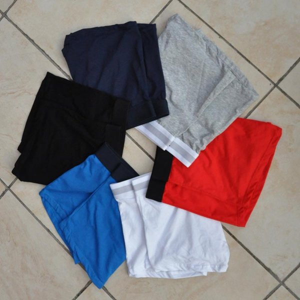 19FW Mens Underwear Boxers Letter Sexy Soft Cotton Underpants Sports Casual Underwears For Men Boys 6 Color 4 Size Free Shipping