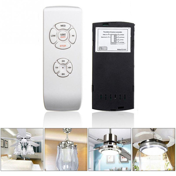 Universal Wireless Deckenventilator Lampe Fernbedienung Kit Sender Empfänger für Deckenventilator Glühlampe LED Energiesparlampe 110 V 220 V