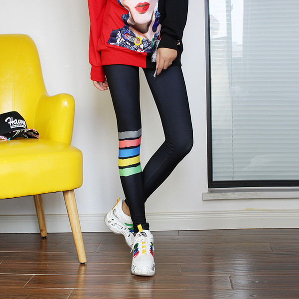 Quality mesh leggings punk spandex leggins mujer sexy leggings trending products 2019