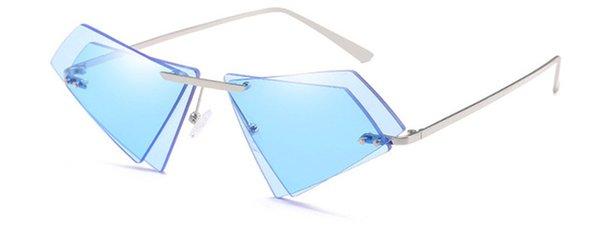 Colore delle lenti: argento blu colorato