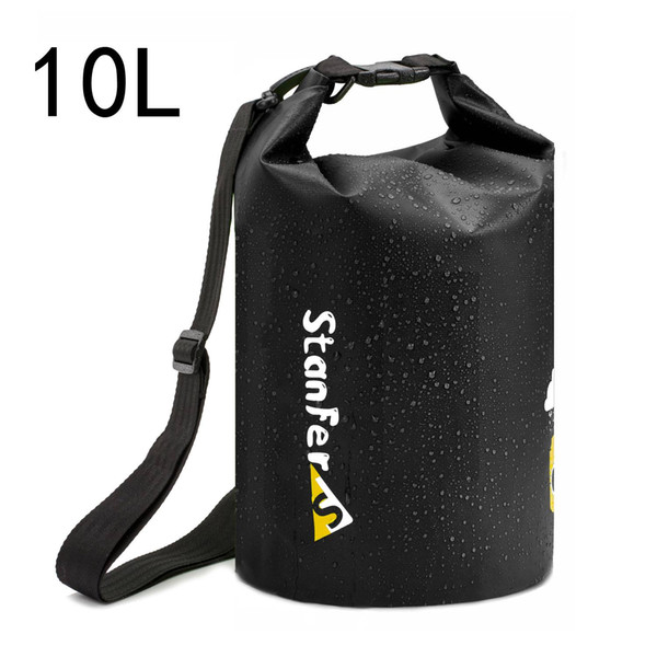 600D PVC 20L 10L Waterproof Dry Bag Comes with Dry Phone Bag for Boating,Swimming,Camping and Fishing with Adjustable Shoulder Strap