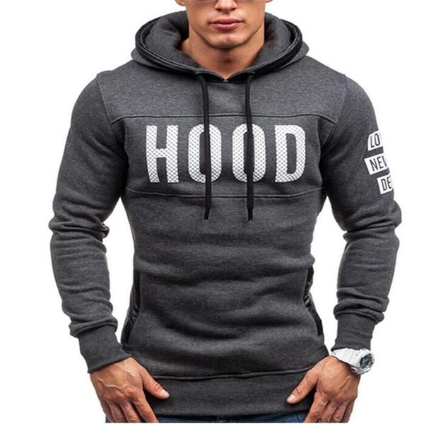 Carta com capuz Hoodies Homens Sudaderas Hombre Hip Hop Mens Marca Zipper camisola do Hoodie Slim Fit Homens Melhor XXXL