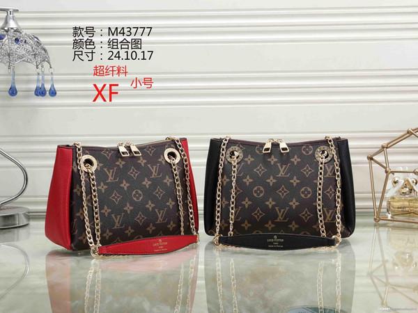 M43777 XF 2018 НОВЫЕ стили Модные сумки Женские дизайнерские сумки женские сумки люксовых брендов, сумки на одно плечо
