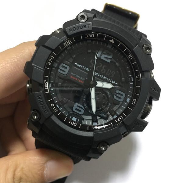2019 New Arrival Moda Mans Relógios Venda Quente Ao Ar Livre Bússola de Acampamento Militar Esportes Relógios de Pulso para Homens dos homens LED Digital Relógio Analógico