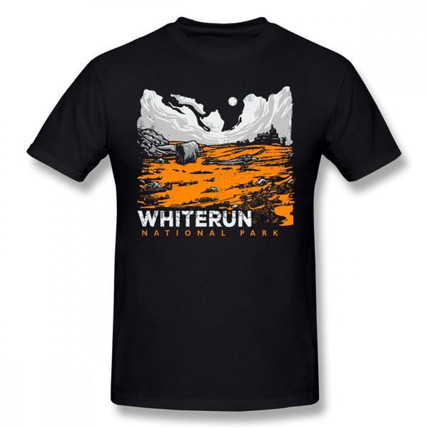 Футболка Skyrim Футболка Skyrim Man Смешная футболка с рисунком Пляжная большая 100 хлопковая футболка с коротким рукавом