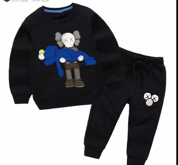 Boys And Girls Suit Brand Tracksuits 2 Kids Clothing Set Hot Sell Fashion Spring Autumn Children's Dresses Long Sleeve Sweater A1