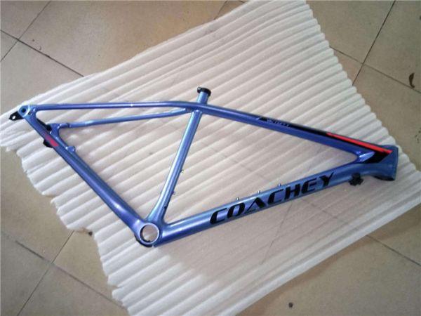 Hersteller direkt T1000 Carbon Fiber EPS + Latex einteiliger geformter MTB Fahrradrahmen Custom painting Carbon Fiber Frame