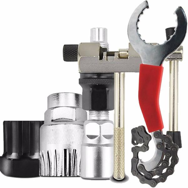 Kits de herramientas de reparación de bicicletas Kit de reparación de desmontaje de cadena de bicicleta de montaña Kit de reparación de abolladuras de automóviles corte de paneles de yeso