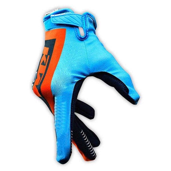 Equipo KTM hombres y mujeres ciclismo en bicicleta Dedo completo guantes ligeros transpirables con estilo de alta calidad 522026