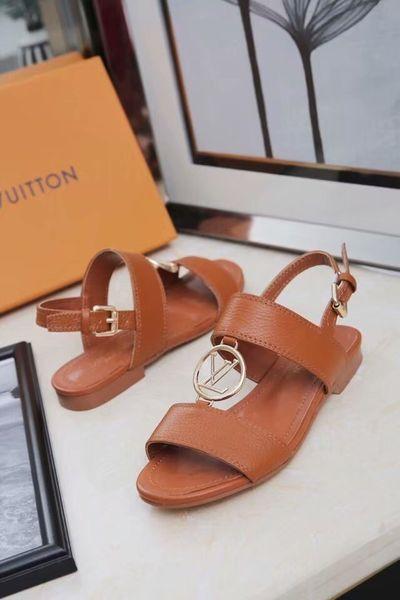 sandalias de mujer Las más nuevas sandalias de mujer de moda Tacones altos y cuero genuino Elegantes zapatos de verano casual