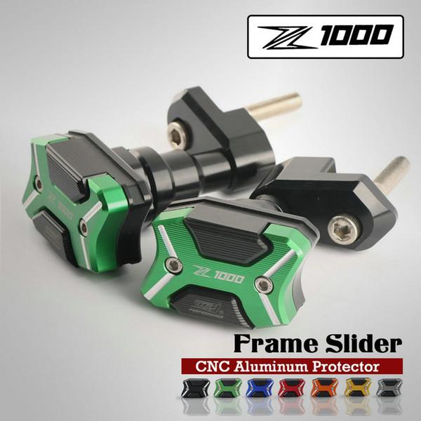 Motorcycle Frame Slider Protector Crash pads Gurad For Z1000 2010-2017 Moto Protect Crash Pad Cover
