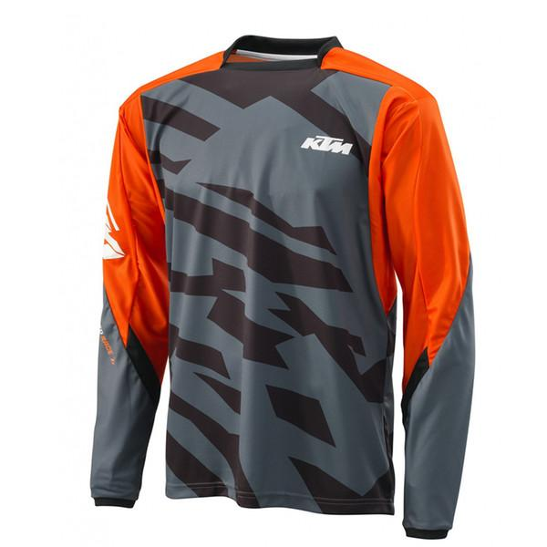 KTM Cycling Long sleeve Jersey Rope Ciclismo Maillot Men's Outdoors MTB Running Bicycle NEW T-Shirt Riding Bike Clothes Sportwear