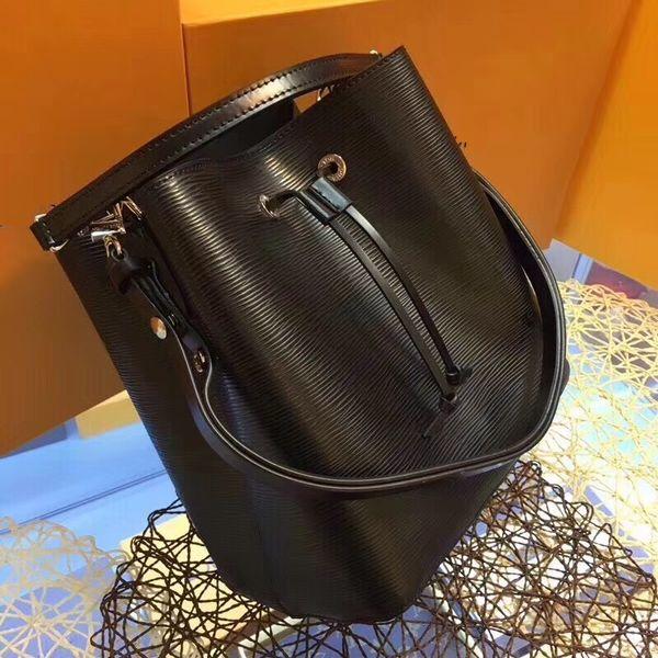 Designer-Handtaschen Luxus Mode Totes Frauen Europa und im amerikanischen Stil hohe Qualität Kordelzug Berühmte-Marke-Bucket Bag große Kapazität 27cm