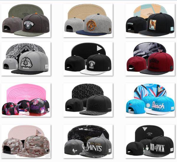 Moda CAYLERSONS snapback beyzbol şapkaları işlemeli Top Erkekler Için Raiders Flexfit Kap Kavisli Softbol Şapka CS3A14 Caps