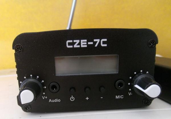 NOUVEAU émetteur FM avec antenne de diffusion stéréo stéréo à cristaux liquides de 7 watts