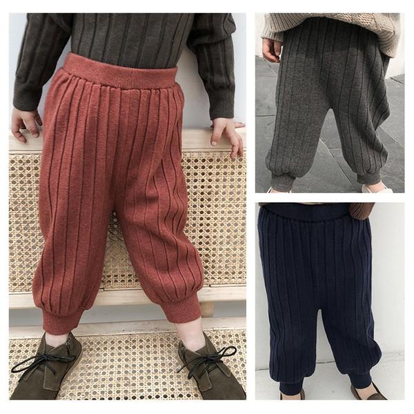 bobo select kids Winterhosen plus samtige Herbst-Baby-Leggings gestreifte warme Hose für Mädchen und Jungen, Kinder-Freizeitkleidung